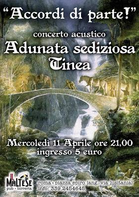 Concierto acústico: Accordi di parte (Roma)
