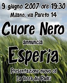 Concierto: Esperia (Italia)